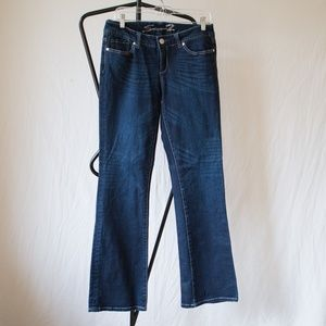 Seven7 Dark Wash Boot Cut Jeans Size 30